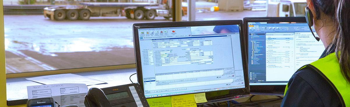 Transport online tracking system