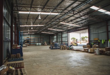 The new Coastal Midwest Transport Warehouse in Kalgoorlie